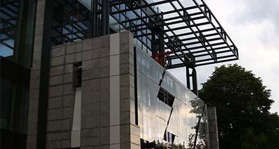 aluminijumske i staklena fasada