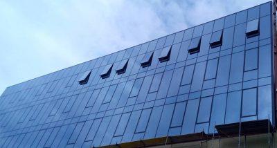 staklena fasada Hotel Hilton projekat